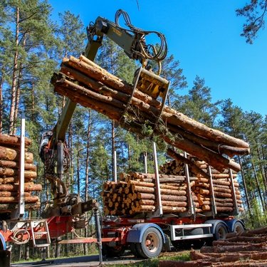 Patriot Fluid Power serves the Logging market