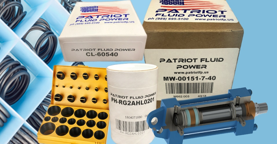 Industrial Seal Kits by Patriot Fluid Power