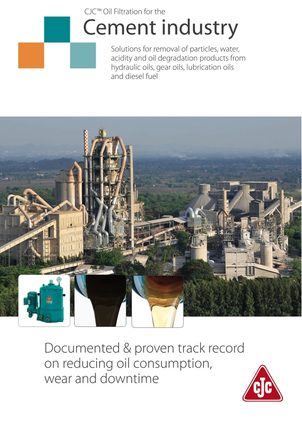 Cement Industry brochure by Patriot Fluid Power