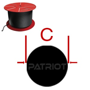 O-RING CORD MORC VT75-VT90 by Patriot Fluid Power