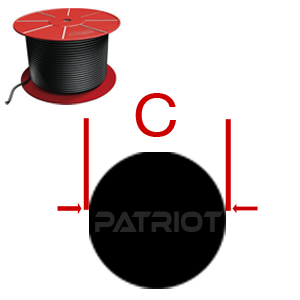 "O-RING CORD ORC VT75-VT90 3/32"" 0.103 brought to you by Patriot Fluid Power"